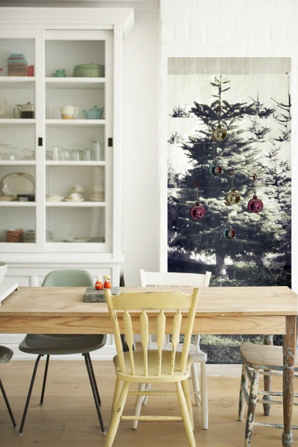 Inspirasjon: instant juletre eget rom